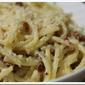 Creamy Bacon Carbonara–Gluten Free