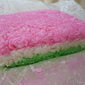 Tricolored Soft Coconut Candy