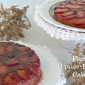 Delicious Plum Upside Down Cake