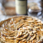 Gluten Free Apple Walnut Tart with Fig Glaze