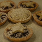 Mince pies with frangipane topping