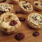 Cranberry and Basil Pie Bites