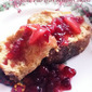 RECIPE: Eggnog French Toast with Pear and Cranberry Compote