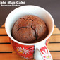 Chocolate Mug Cake Using Pressure Cooker