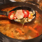 Very Vegetable Chicken Barley and Bean Soup Recipe