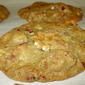 White Trash Cookies with Almonds and Fresh Cranberries