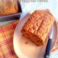 RECIPE: Instant Oatmeal, Maple and Hazelnut Pumpkin Bread