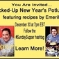 #SundaySupper Kicked-Up New Year's Potluck...Featuring Columbia Street Grinders from Emeril's Kicked-Up Sandwiches Cookbook!