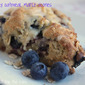 Blueberry Blueberry Oatmeal Maple Scones, Sponsored by Better Oats