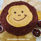 Chocolate and Peanut Butter Monkey Cake