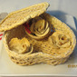 Let's make pastry basket & bread roses