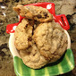 12 Days of Christmas Cookies--Peanut Butter & Chocolate Chip Oatmeal Cookies