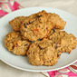 Cherry-apricot quinoa breakfast cookies