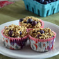 Gluten-Free Blueberry-Oatmeal Breakfast Muffins