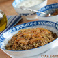 Cook, Eat & Tweet: #AnEdibleMosaic's Lentil and Bulgur Pilaf with Caramelized Onion