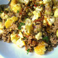 Middle Eastern Quinoa Salad w/ Cauliflower
