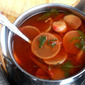 Red Radish Rasam...a healthy Hot n Sour soup Indian style !