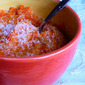Easy Carrot Cake Hot Cereal (Gluten/Grain/Sugar/Nut-Free, Vegan)