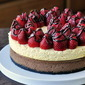 Double Decker Neapolitan Cheesecake - Our 1000th Recipe!