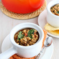 Barley Stew Recipe with Caramelized Onions, White Beans & Spinach