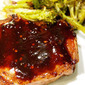 Secret Recipe Club - Molasses Coffee Marinated Pork Chops