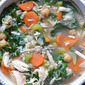 Chicken Chickpea Health Soup