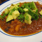 Quick Vegetarian Black Bean Posole
