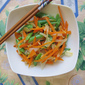 Stir-Fry Carrots & French Beans 清炒胡萝卜