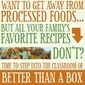 "Another Peek Inside ""Better Than a Box"" – FREE Printable Real Food Substitution Chart"