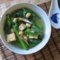 Gai Lan Chinese Broccoli Soup 芥兰黄豆汤
