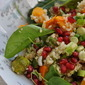 Winter Salad of Roasted Vegetables and Quinoa