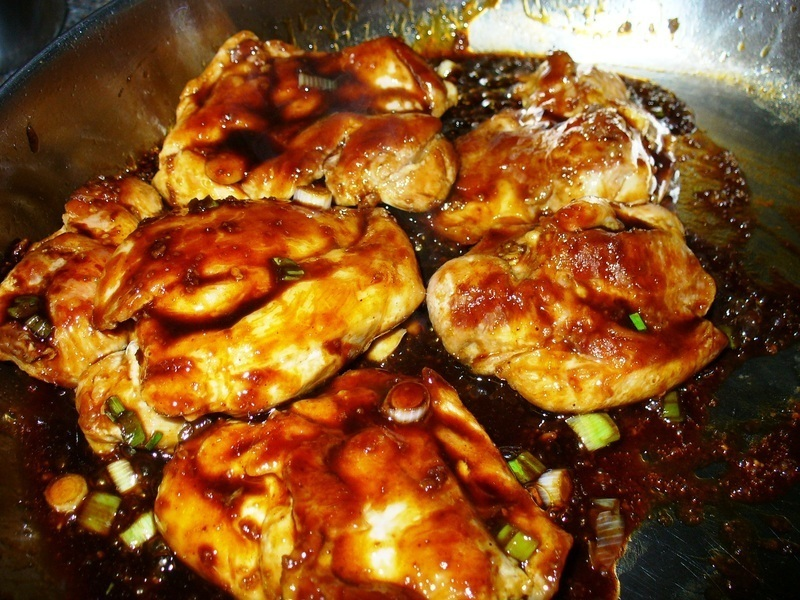Asian Glazed Chicken Thighs Recipe by Lynne - CookEatShare