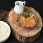 Nadan Kozhi Mappas / Kerala Chicken Curry in Creamy Coconut Sauce