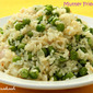 Mutter Fried Rice / Fresh Green Peas Fried Rice