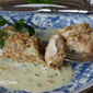 Walnut Crusted Chicken with Jalapeno Gouda Sauce