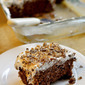 Easy Chocolate Poke Cake