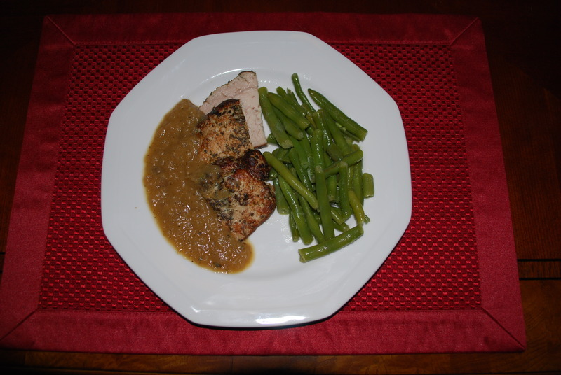 Pork Roast with Onion and Green Apple Recipe by Mack - CookEatShare
