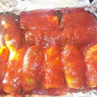 Sunday Supper Cabbage Rolls with Tomato Gravy