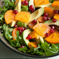 Crown Jewels: Winter Persimmon and Avocado Salad