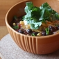 Trick or Treat - Pumpkin and Black Bean Chili