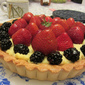 berry berry fruit tart