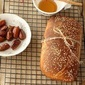 Honey and date bread – breakfast loaf