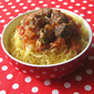 Recipe #333: Spaghetti Squash & Spicy Meatballs