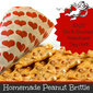 Easy Homemade Peanut Brittle – DIY Valentine's Day Gift Idea