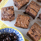 Blueberry Fudge Brownies, plus a Brookside Dark Chocolate Tasting Kit Giveaway!