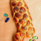 Six-Strand Braided Challah Bread