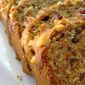 Banana Bread with Walnuts and Dried Cherries