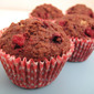 Raspberry Chocolate Muffins (butter free)