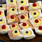 Organic Meyer Lemon Curd Puff Pastry Tarts