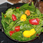 Fresh Spinach and Sweet Peppers Benefits and Weight Loss